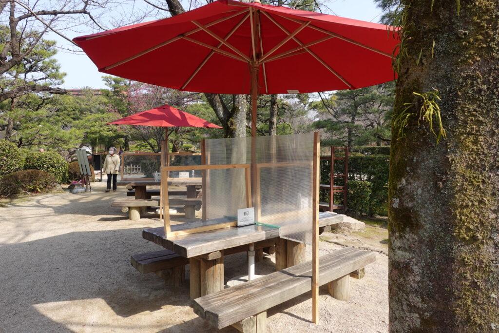 茶屋の席2