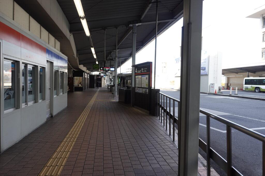 バスセンターの停留所