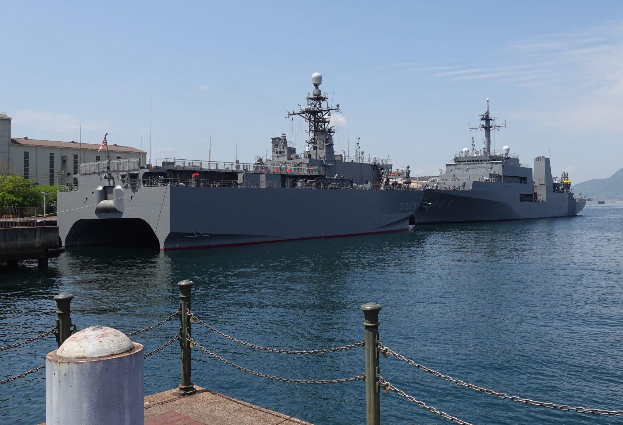 音響測定艦「あき」